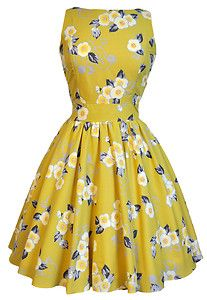 Sunshine & Roses l lady vintage garden party dress