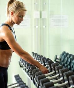 Get fitter, faster by lifting heavier weights! From shape.com get-fit