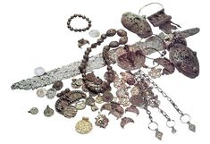 Viking treasure found on the banks of the Dnieper.  X - XI centuries.