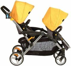 Amazon.com: Contours Options LT Tandem Stroller (Valencia): Baby