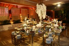 wedding desserts table