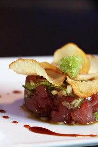 Tuna poke. Raw tuna is better than chocolate. Really.