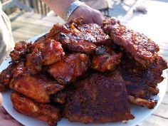 Dry rub and bbq sauce recipe for chicken and ribs