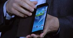 Samsung to Unveil Smartphone With Curved Screen in October