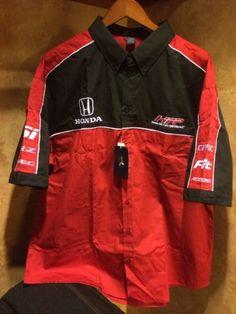 Honda factory performance racing shirt mens 2XL civic si fit vtec