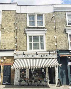 London Instagrammable shopfronts - Biscuiteers