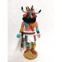 Antique Native American Hopi Carved Cow Katsina Doll