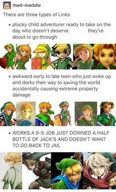 Three types of Link.