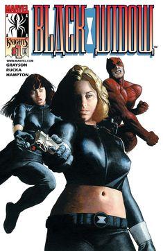 """Black Widow #1 """"Breakdown Part 1"""" (January, 2001)"""