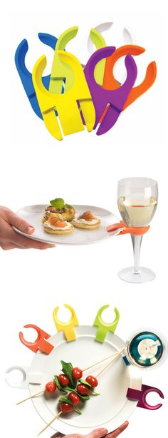 Drink clips - perfect for wine glasses while you walk around
