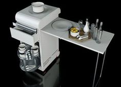 Mini Kitchen for a Small Apartment by Joongho Choi