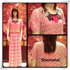 Checkered maxi dress