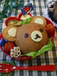 Bear is so versatile in the making of kyaraben