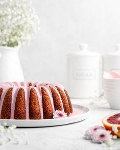 Blood Orange Ricotta Bundt Cake - Food Duchess