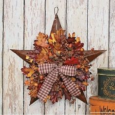 Amazon.com : Autumn Leaves Barn Star Harvest Seasonal Thanksgiving & Fall Decor : Other Products : Everything Else
