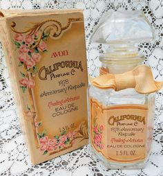 Vintage Avon Cologne Bottle 70s California Perfume Co. by OakleafHollowVintage, $8.00
