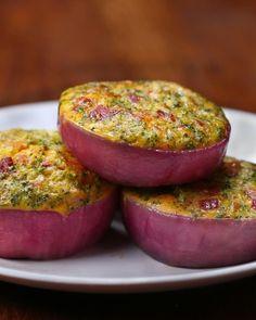 Breakfast Onion Cups
