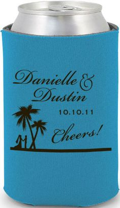 Wedding Koozie for Welcome Bags