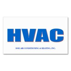 Hvac service form products by industry custom forms bills of hvac technician bold cool blue business card wajeb Gallery