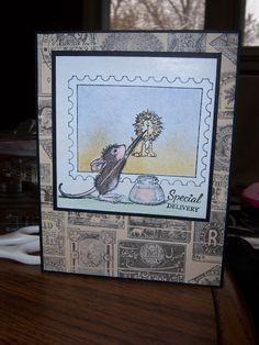 Sundaystamper  Papercrafts: Zodiac Sign Connection House Mouse Challenge (HMFM...