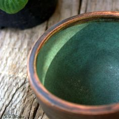 turquoise glaze - detail
