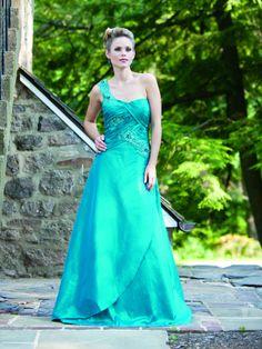 Robe de bal robes demoiselle honneur en taffetas - Robes de Mariage Boutique