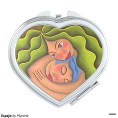Espejo Compact Mirrors. Regalos, Gifts. #espejo #mirror #DiaDeLasMadres #MothersDay