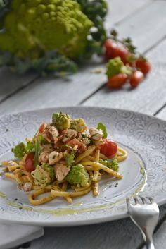 La Cucina di Stagione: Spaghetti alla chitarra con ragout di gallinella d...