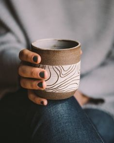 Uzumati Ceramics offers a line of hand-thrown, hand-carved pottery that is a homage to this majestic region. Learn more about their mugs and candles here! Thrown Pottery, Pottery Mugs, Ceramic Pottery, Slab Pottery, Pottery Wheel, Ceramic Cups, Ceramic Art, Keramik Design, Clem