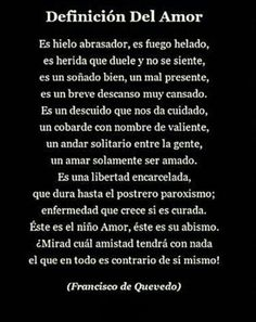 Amor Poetry Poem, Poetry Quotes, Motivational Phrases, Inspirational Quotes, Romantic Poems, Definition Of Love, Lovers Quotes, Good Notes, Spanish Quotes