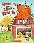 When The Leaf Blew In - Use to teach verbs vs nouns I have this book among my big books