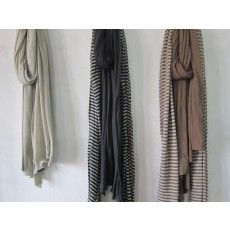 Trendy, soft summer shawl of bamboo and cotton.