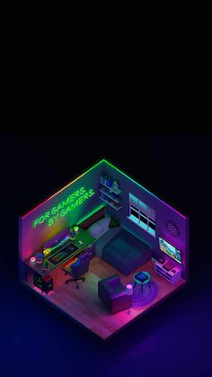 Razer Gaming Setup iPhone Wallpaper - iPhone Wallpapers