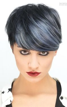 silver highlights for hair 2016                                                                                                                                                     More