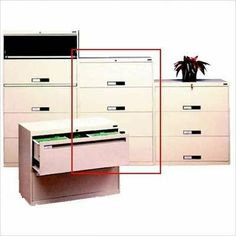 "Lateral File With 4 Drawers and Fixed Drawer Fronts Color: Champagne Putty, Dimensions (W x D x H): 42"" x 17 15/16"" x 51 1/4"", Handles: Long Pull by Tennsco Corp.. $840.99. LPL4248L40 -216 Color: Champagne Putty, Dimensions (W x D x H): 42"" x 17 15/16"" x 51 1/4"", Handles: Long Pull Features: -Four full suspension drawers.-Ball bearing suspensions allow the drawers to glide effortlessly and quietly.-Standard dual-point gang lock with safety interlock system.-Four adjust..."
