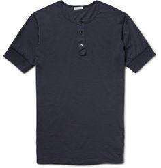 Tomas MaierCotton-Jersey Henley T-Shirt
