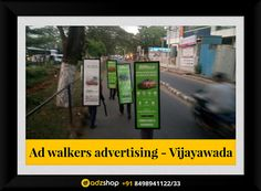 look walkers,ad walkers,I walkers advertisement in Vijayawada, Andhra Pradesh. adzshop innovative advertisement