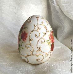 Dárky pro velikonoční ruční práce.  Fair Masters - handmade Easter Egg, výška 12 cm Ruční..