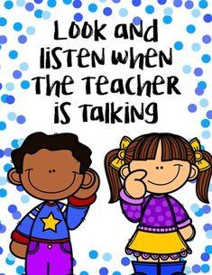 Editable Classroom Rules Posters by Adrienne Wiggins Kindergarten Classroom Rules, Preschool Classroom Rules, Classroom Rules Poster, Classroom Charts, Classroom Board, Classroom Behavior, Classroom Language, Classroom Management, Bulletin Board