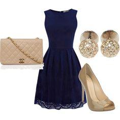 Oasis Lace Cutaway Dress  Giuseppe Zanotti Design peep toe pump  CHANEL REWIND Medium Quilted Shoulder Bag  NOOR 18K gold and diamond sphere studs
