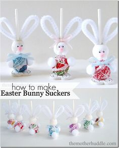 Easter Bunny Suckers