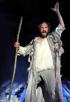 2011 - Ralph Fiennes plays Prospero in 'The Tempest'. The Theatre Royal, Haymarket, London
