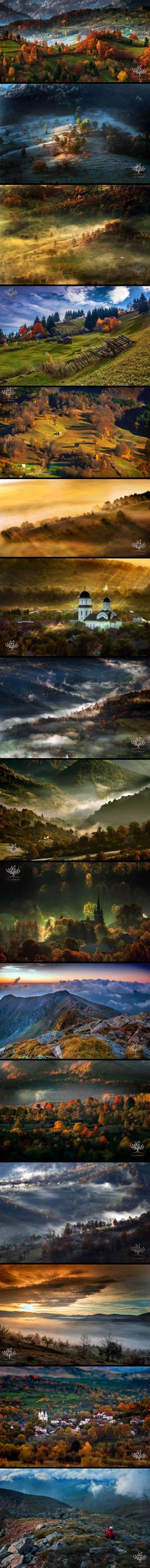 Photographer Wakes Up At 5am To Hike In Transylvanian Mountains And Photograph Stunning Landscapes