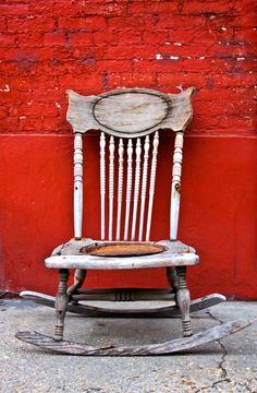 Chair somewhere in New Orleans