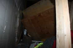vandalised storage