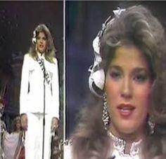 Miss Venezuela 1982 - Ana Teresa Oropeza, durante su presntacion en Traje Tipico en el Miss Uiverse 1982 realizado en Ecuador...by Antoni Azocar