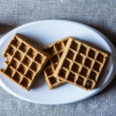 Spiced Stout Waffles Recipe on Food52 recipe on Food52