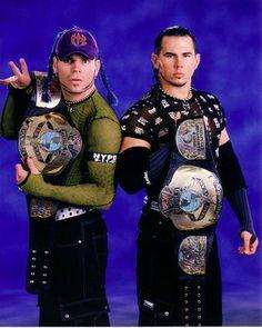 Hardy Boyz WCW World Tag-Team Champions (IN WWE)