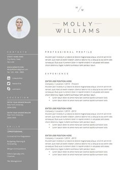 #Resume #Template and Cover Letter #Template for by…