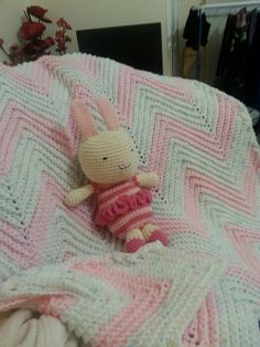 Bunny xand blanket for jo